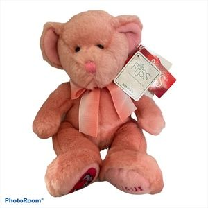Russ Star Scopes Pink Taurus Plush Bear Zodiac